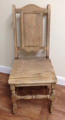 Elm Dining Chair in Natural Finish