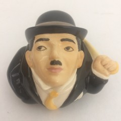 Charlie Chaplin Face Pot