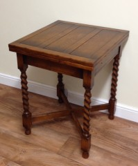 Oak Extending Drawleaf Table