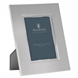 Waterford Lismore Bead Silver Photo Frame