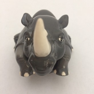 Rhino Face Pot
