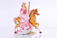 English Ladies Co. Summer Carousel Figure