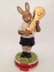 Bunnykins Winners Trophy - Gold