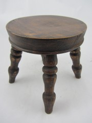 Elm Candle Stand/Stool