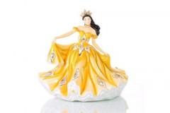 English Ladies Co. Golden Waltz Figurine/Doll