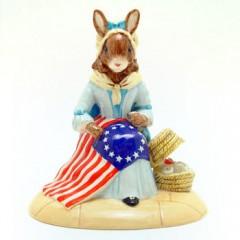 Royal Doulton Bunnykins Betsy Ross