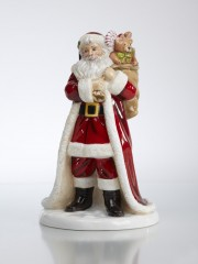 THE ENGLISH LADIES CO XMAS FIGURE FATHER CHRISTMAS. NEW AND BOXED