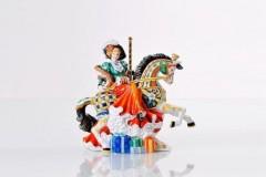 English Ladies Co. Christmas Carousel Figure