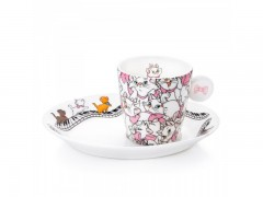 English Ladies Co. Aristocats Espresso Set