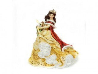 Winter Belle Figurine from Disney's Beauty and the Beast by English Ladies Co.