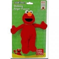 GUND Sesame Street Walking Finger Puppet - Elmo