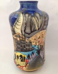 Moorcroft Lord Mayors Show Vase