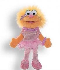 GUND Sesame Street Finger Puppet - ZOE