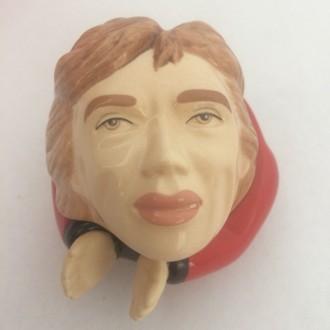 Mick Jagger Face Pot
