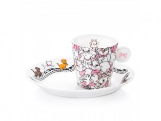 English Ladies Co. Aristocats Espresso Set