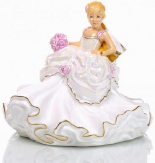 English Ladies Wedding Dreams Mini Bride - Blonde