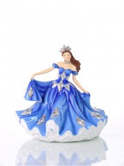 English Ladies Sapphire Waltz Figurine