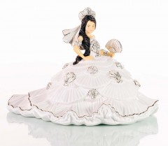 English Ladies Co. Gypsy Fan-tasy Figurine