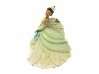 Disney's Tiana Flat Back Figurine from English Ladies Co.