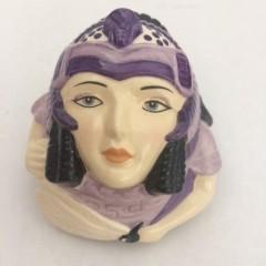 Cleopatra Face Pot