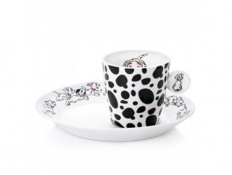 English Ladies Co. 101 Dalmations Espresso Set