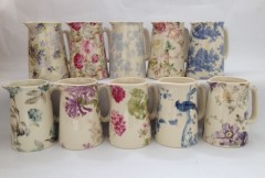 Victorian Jugs - Sets of 10 patterns available