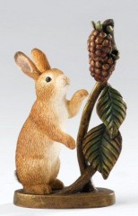 Border Fine Arts Rabbit and Blackberries