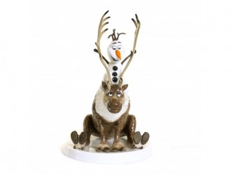 Olaf and Sven from Disney's Frozen- Figurine from English Ladies Co.
