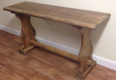 Elm Bench Style Console