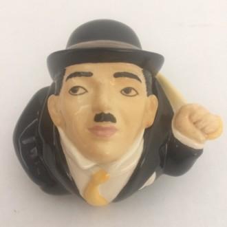 Charlie Chaplin Face Pot